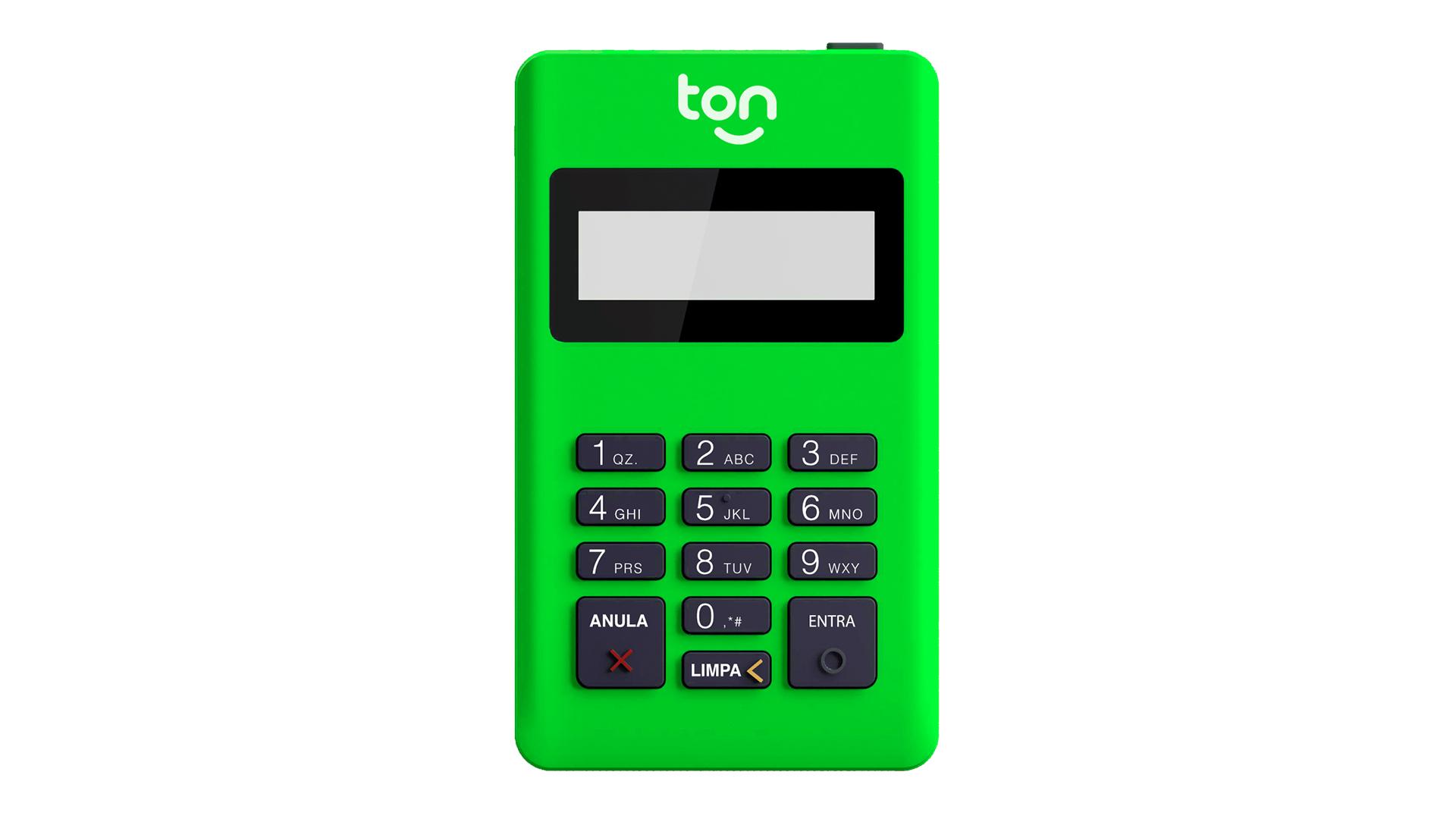 Máquina de Cartão - Ton T1