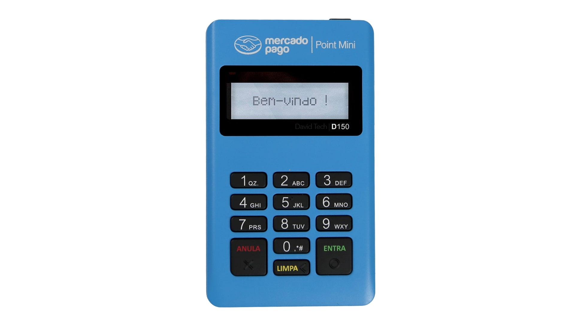 point mini azul - mercado pago