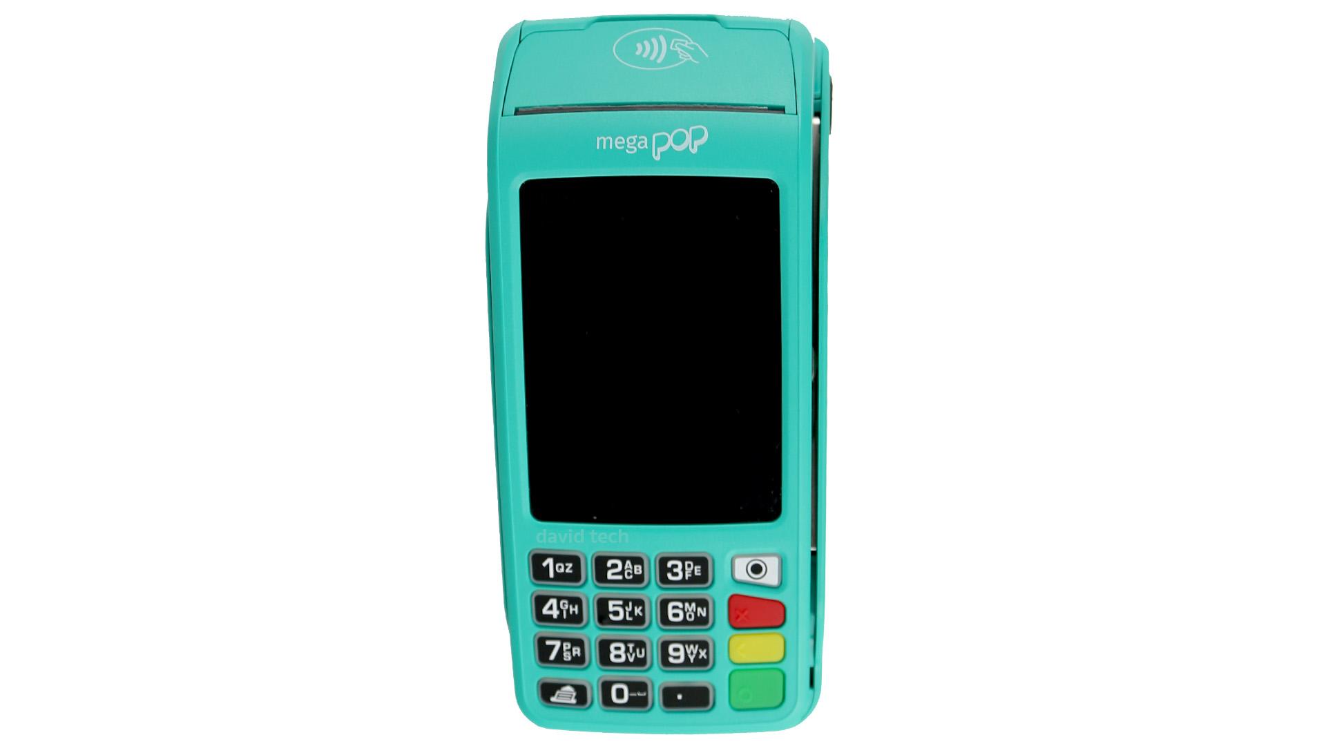 Mega Pop Credicard Máquina de cartão
