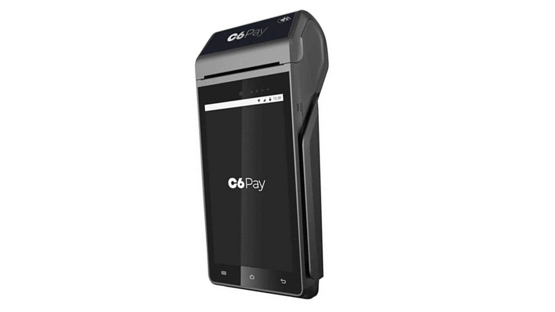 Maquininha C6Pay Smart