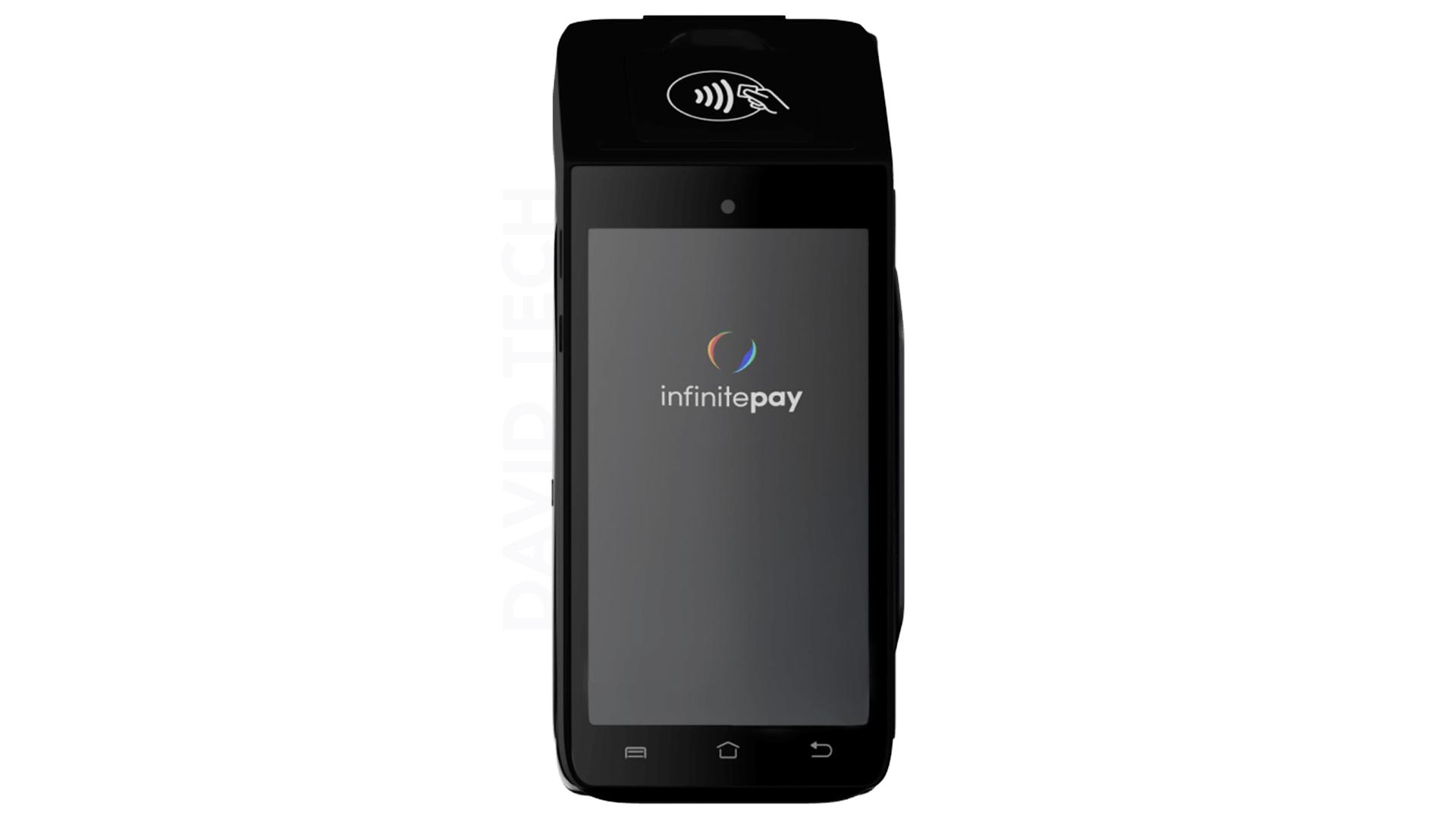 InfiniteBlack X990 - Nova máquina de cartão da InfinitePay