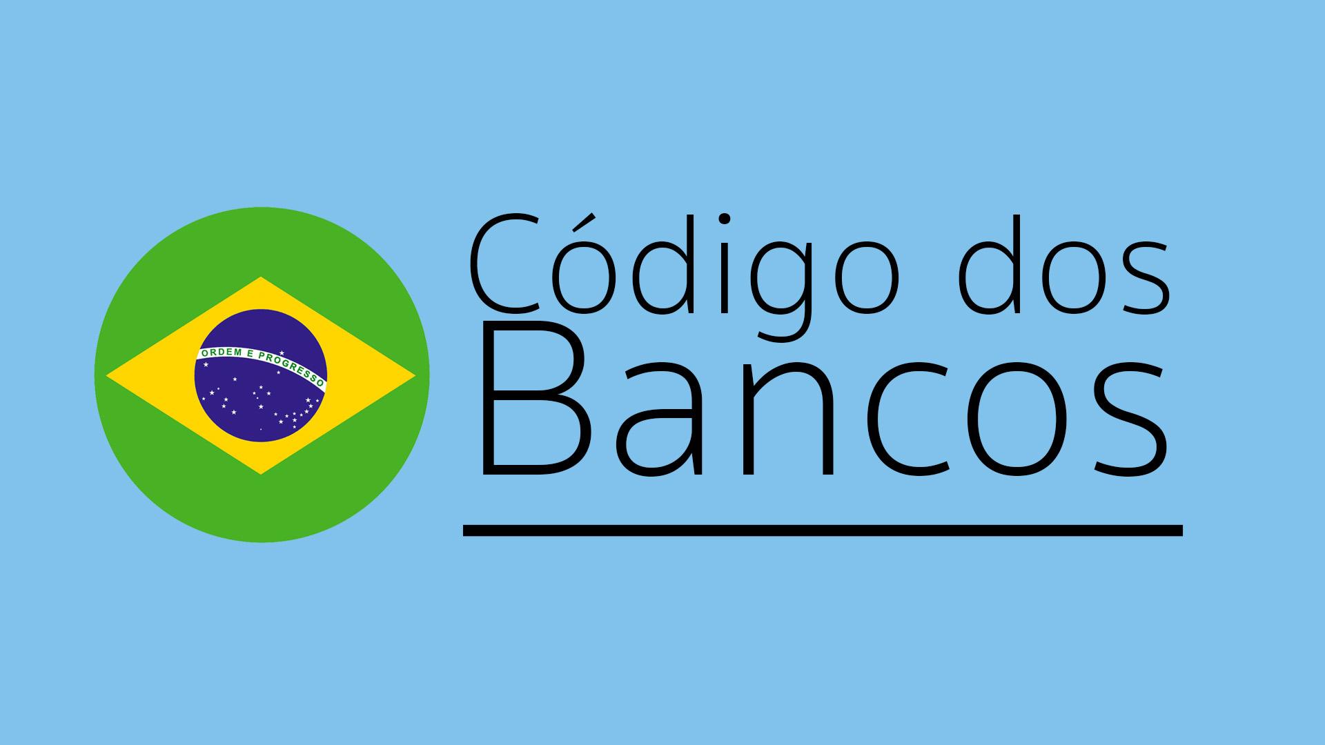 código dos banco
